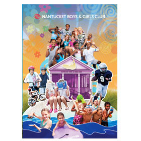 Nantucket Boys and Girls Club annual appeal collage
