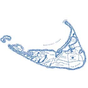 Map for Nantucket Looms